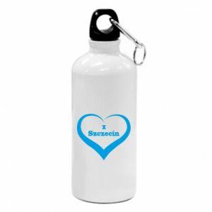 Water bottle I love Szczecin