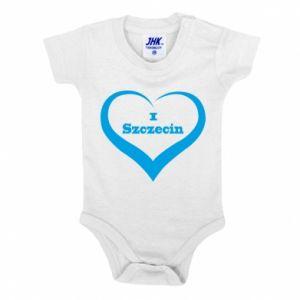 Baby bodysuit I love Szczecin