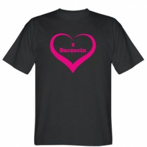 T-shirt I love Szczecin