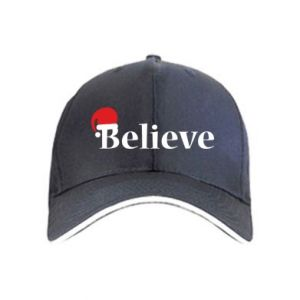 Cap Believe in a hat