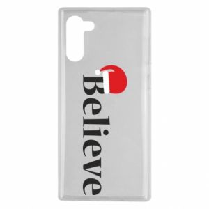 Samsung Note 10 Case Believe in a hat