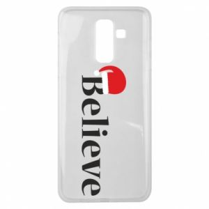 Samsung J8 2018 Case Believe in a hat