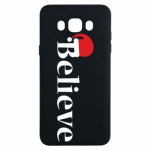 Samsung J7 2016 Case Believe in a hat