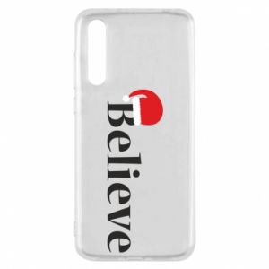 Huawei P20 Pro Case Believe in a hat
