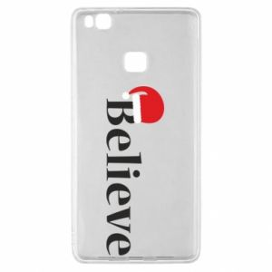 Huawei P9 Lite Case Believe in a hat