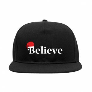 SnapBack Believe in a hat