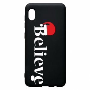Samsung A10 Case Believe in a hat