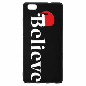 Huawei P8 Lite Case Believe in a hat