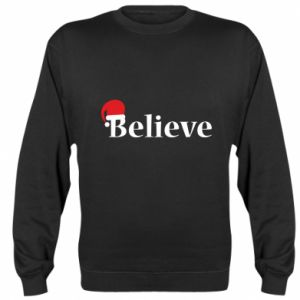 Sweatshirt Believe in a hat