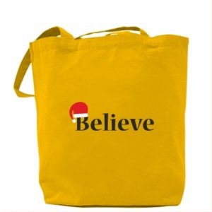 Bag Believe in a hat