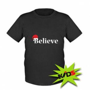 Koszulka dziecięca Uwierz w kapelusz