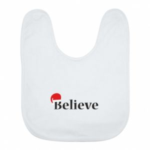 Bib Believe in a hat