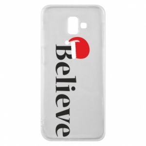 Samsung J6 Plus 2018 Case Believe in a hat