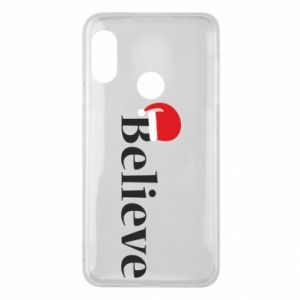 Mi A2 Lite Case Believe in a hat
