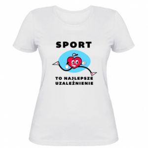 Damska koszulka Uzależnienie