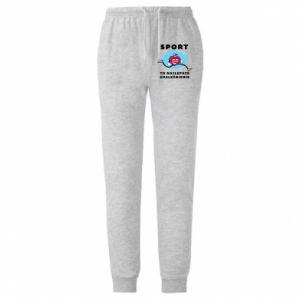 Męskie spodnie lekkie Addiction