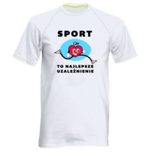 Men's sports t-shirt Addiction