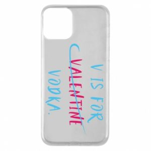Etui na iPhone 11 V is for vodka.