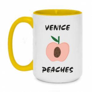 Kubek dwukolorowy 450ml Venice peaches