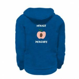 Bluza na zamek dziecięca Venice peaches
