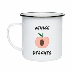 Kubek emaliowany Venice peaches