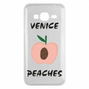 Etui na Samsung J3 2016 Venice peaches