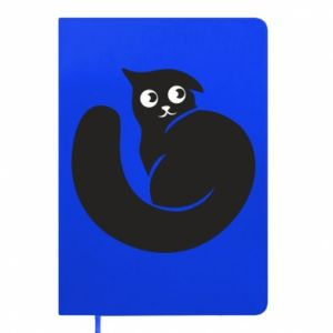 Notepad Very black cat is watching you - PrintSalon