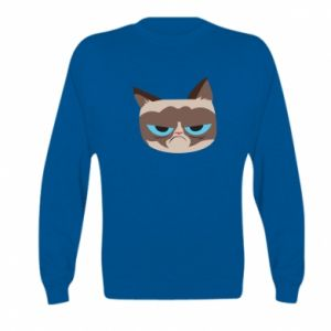 Bluza dziecięca Very dissatisfied cat
