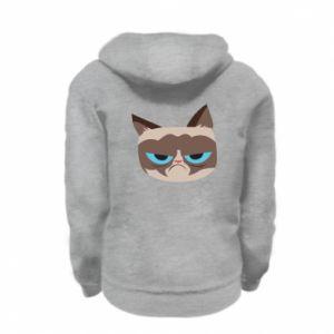 Bluza na zamek dziecięca Very dissatisfied cat