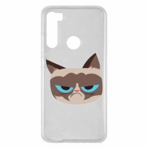 Etui na Xiaomi Redmi Note 8 Very dissatisfied cat