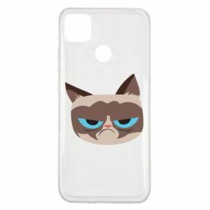 Etui na Xiaomi Redmi 9c Very dissatisfied cat