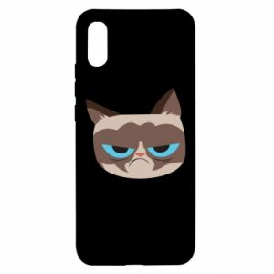 Etui na Xiaomi Redmi 9a Very dissatisfied cat