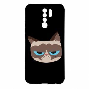 Etui na Xiaomi Redmi 9 Very dissatisfied cat