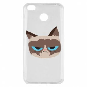 Etui na Xiaomi Redmi 4X Very dissatisfied cat