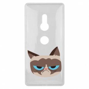 Etui na Sony Xperia XZ2 Very dissatisfied cat