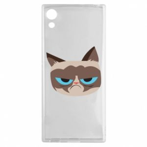 Etui na Sony Xperia XA1 Very dissatisfied cat