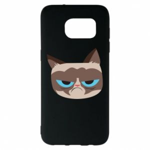 Etui na Samsung S7 EDGE Very dissatisfied cat