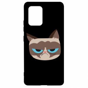Etui na Samsung S10 Lite Very dissatisfied cat