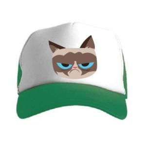 Czapka trucker Very dissatisfied cat