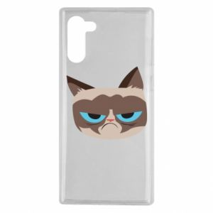 Etui na Samsung Note 10 Very dissatisfied cat