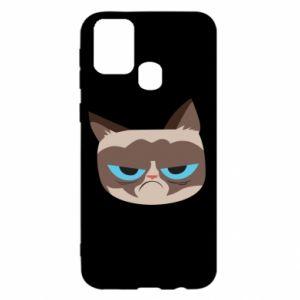 Etui na Samsung M31 Very dissatisfied cat
