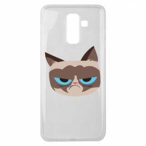Etui na Samsung J8 2018 Very dissatisfied cat