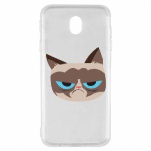 Etui na Samsung J7 2017 Very dissatisfied cat