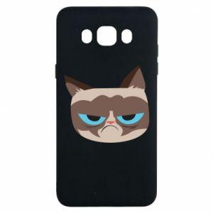 Etui na Samsung J7 2016 Very dissatisfied cat