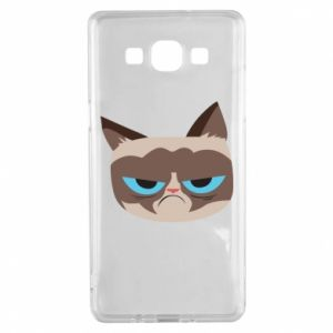 Etui na Samsung A5 2015 Very dissatisfied cat