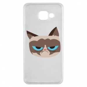 Etui na Samsung A3 2016 Very dissatisfied cat