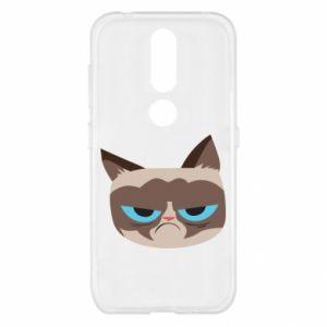 Etui na Nokia 4.2 Very dissatisfied cat