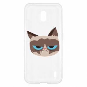 Etui na Nokia 2.2 Very dissatisfied cat