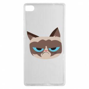 Etui na Huawei P8 Very dissatisfied cat
