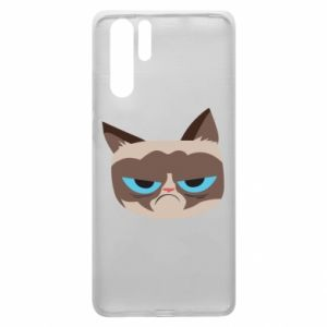 Etui na Huawei P30 Pro Very dissatisfied cat